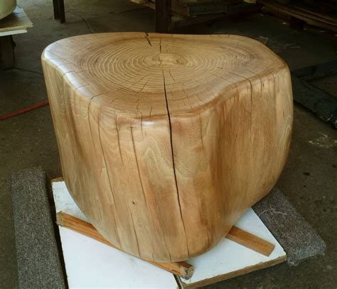 Tree Stump in Country Pine Water Based Wood Stain and