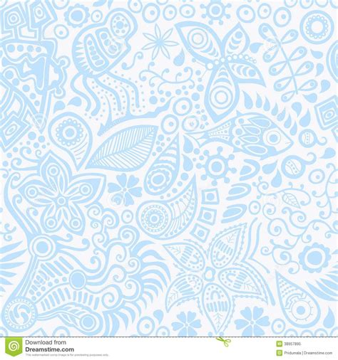 seamless ornament pattern vector vector seamless ethnic ornament stock vector image 38957895
