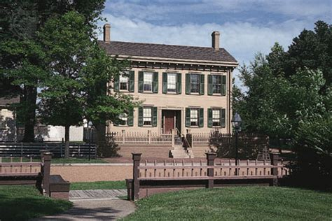 lincoln house springfield il lincoln home national historic site springfield illinois kids encyclopedia