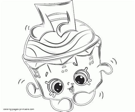 shopkins coloring pages season 1 spilt milk shopkins