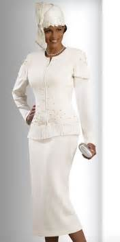 donna vinci knits 2919 womens off white church suit french novelty