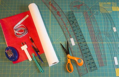 Pattern Drafting Materials | getting started in pattern drafting how to make a dress