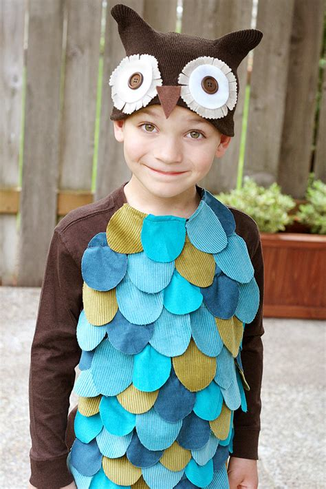 Handmade Owl Costume - 10 diy costume ideas stitched
