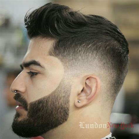 Awesome Hairstyles For Guys With Beards by The Beard Fade Cool Faded Beard Styles S