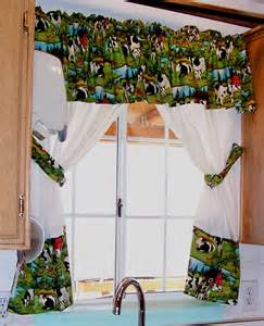 cow kitchen curtains curtain design