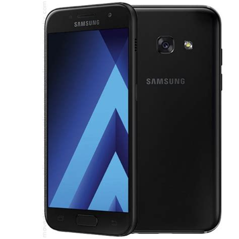 Sparkling Black Samsung A3 2017 samsung galaxy a3 2017 black 8806088637259 movertix mobile phones shop