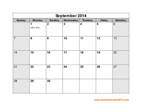 september 2014 calendar template printable september 2014 calendar gameshacksfree