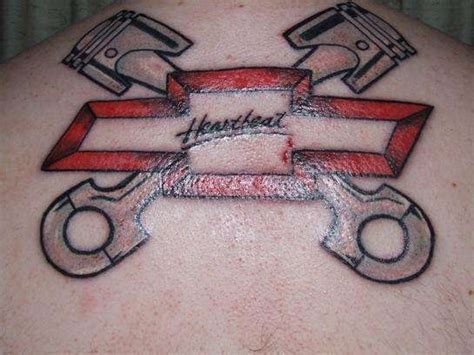 chevy tattoos 35 chevy tattoos for proud chevrolet owners pictures