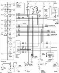 ford contour 1997 instrument cluster wiring diagram all about wiring diagrams
