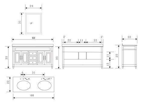 kitchen sink sizes in inches double vanity dimensions double sink vanity dimensions