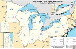 great lakes water utility map sustainable water delivery