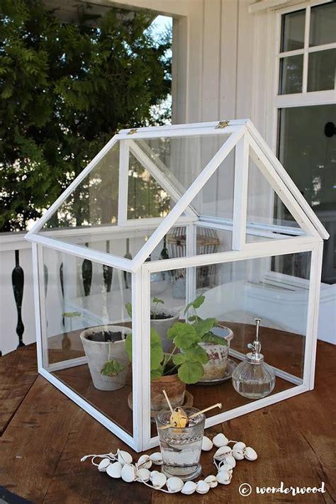 easy diy mini greenhouse ideas gardening viral