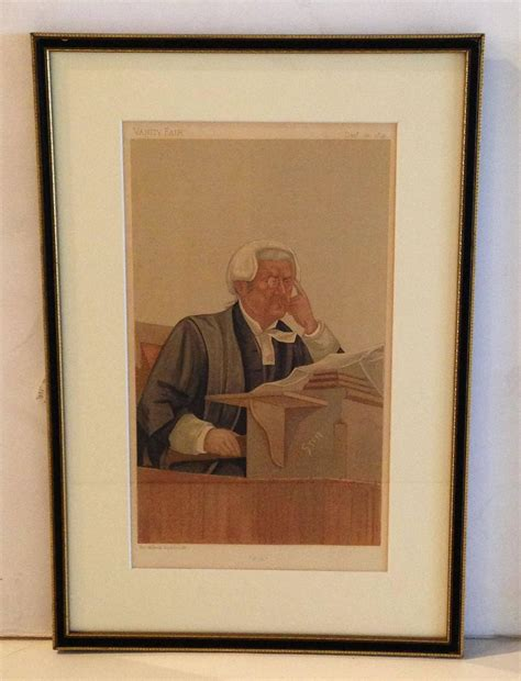 Vanity Fair Prints vanity fair quot quot prints of judges seven available priced individually for sale at 1stdibs
