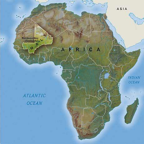 africa map mali map africa timbuktu
