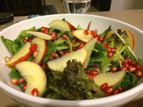 cara membuat salad sayur memakai minyak zaitun salad sehat buah delima resep masakan dapur arie