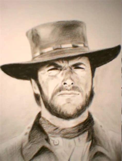 film cowboy clint eastwood subtitle indonesia 042 clint eastwood cowboy speed painting doovi