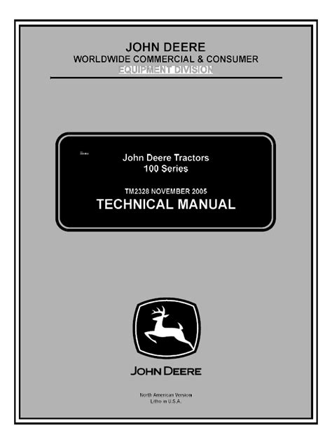 deere 100 series parts manual wiring diagrams