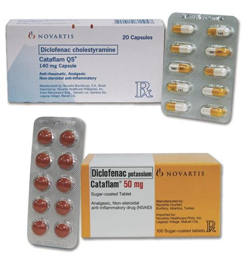 Obat Cataflam 50 Mg Diclofenac Potassium cataflam dosage information mims philippines