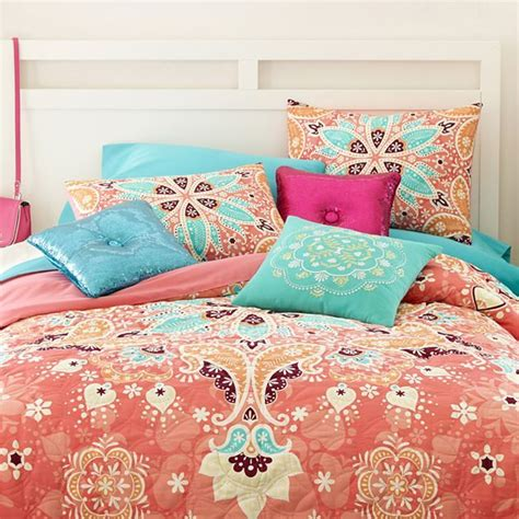 seventeen 174 kaleidoscope comforter set accessories