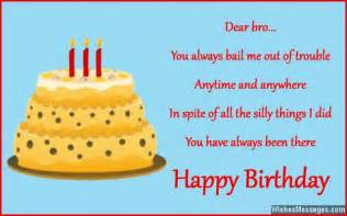 birthday wishes for brother quotes and messages