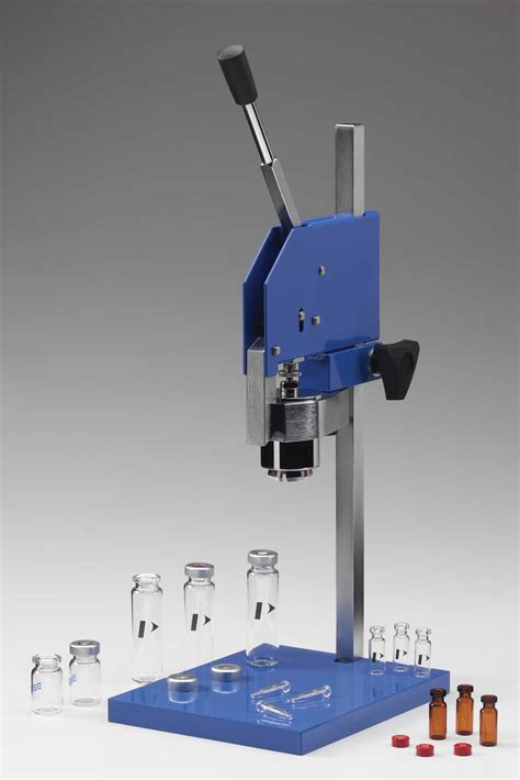 bench crimper bench top crimper without jaws perkinelmer