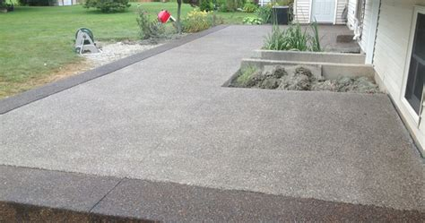 Aggregate Cement Patios by Patio Exposed Aggregate Modern Patio Outdoor