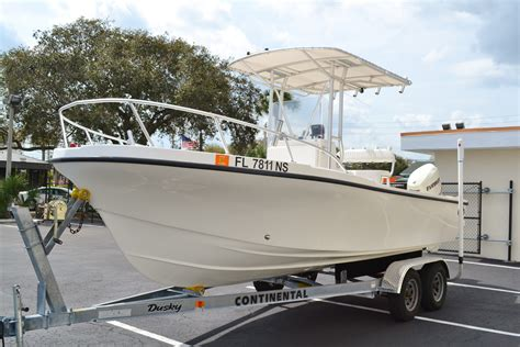 dusky boat center used 2008 dusky marine 203 center console boat for sale in