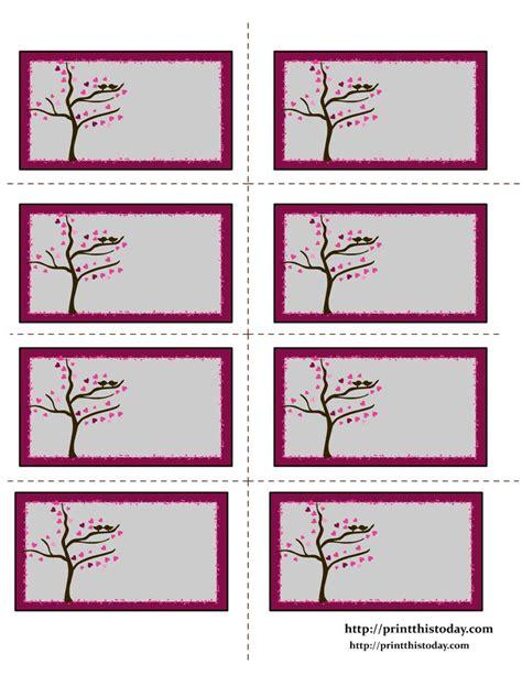 printable valentine tags pinterest free labels printable valentine labels with love birds