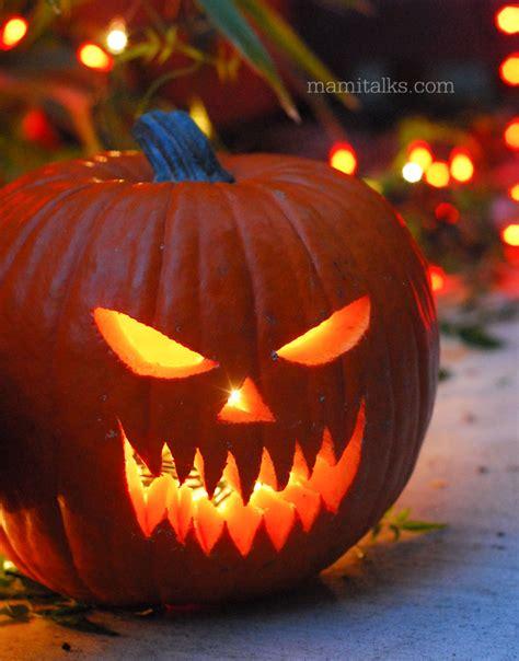 pumpkin faces tips for carving pumpkins mami talks