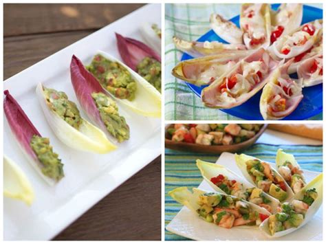 three endive appetizers for super bowl sunday california