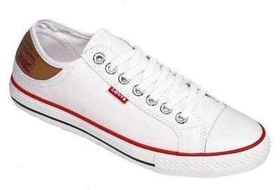 levi s s stan buck fashion canvas sneakers shoes white