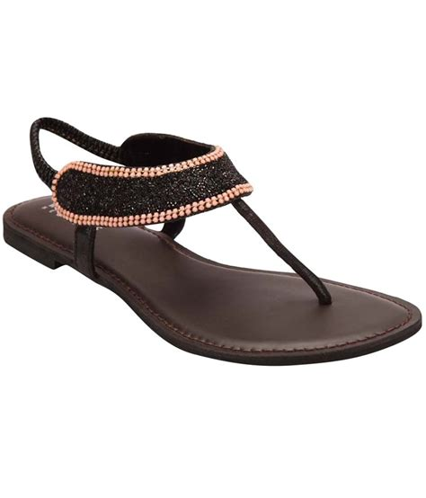 Beautiful Sandals For The by Blue Beautiful Black Sandals Price In India Buy