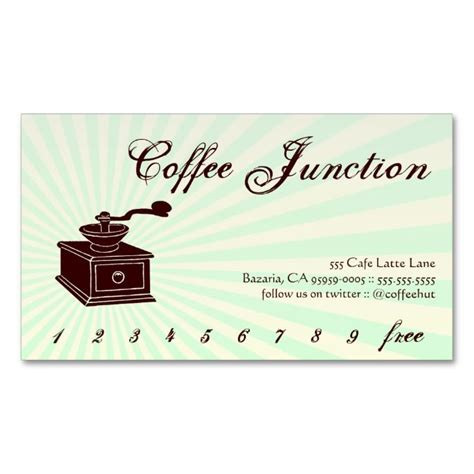drink punch card template coffee drink punch loyalty card loyalty cards coffee