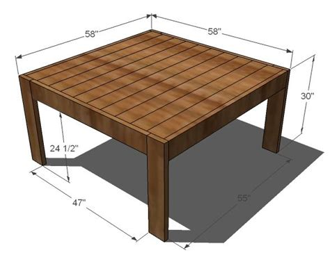 square modern farmhouse table home decorating