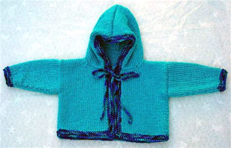 baby hooded sweater knitting pattern knit baby sweater with pattern images