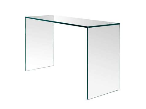 scrivania in vetro scrivania in vetro gulliver t d tonelli design