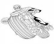coloriage spiderman dessin 224 imprimer gratuit