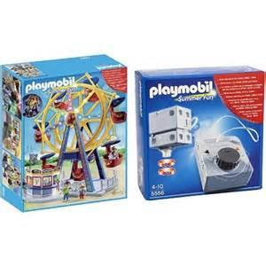 playmobil beleuchtung playmobil summer riesenrad mit bunter beleuchtung 5552