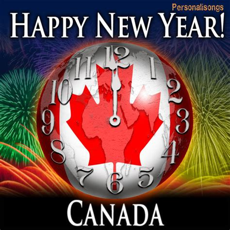 happy new year canada single by personalisongs on itunes