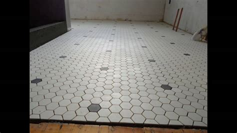 Hex Tiles For Bathroom Floors by Hexagon Tile Floor Roselawnlutheran