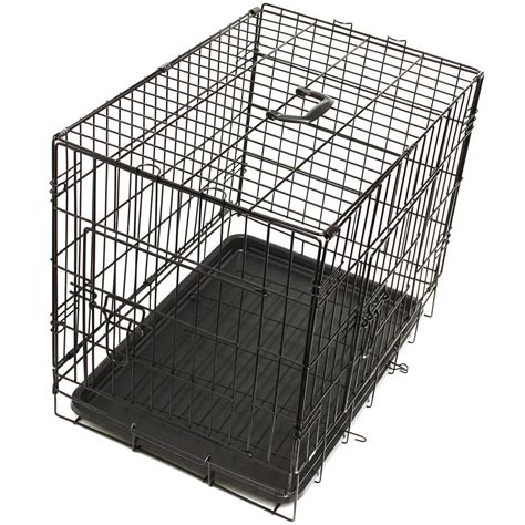 steel kennel oxgord pet kennel cat folding ss steel crate animal play pen wire metal cage ebay