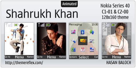salman khan themes nokia c2 shahrukh khan theme for nokia c1 01 c2 00 themereflex