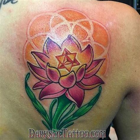 lotus tattoo parlor darkside tattoo tattoos marissa falanga color lotus