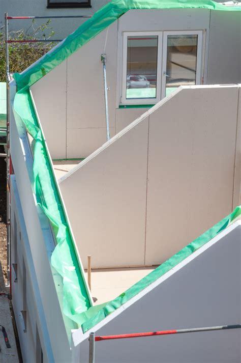 aufbau vom fertighaus 187 der ablauf im 220 berblick - Aufbau Fertighauswand