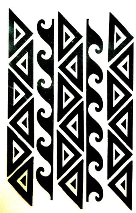 tattoo maker in sharjah polynesian hawaiian samoan tribal warrior arm or leg band