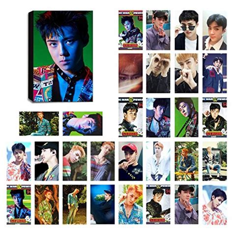 Set Photocard Kpop Exo D O kpop exo lomo cards exo k exo m photocard set of 30 for