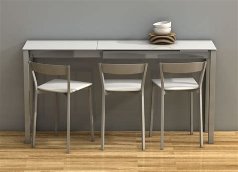 space saving kitchen furniture 27 space saving kitchen tables modern console tables chicago by gene sokol euroluxe