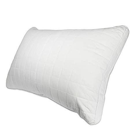 silk pillow cases bed bath beyond the signature collection silk filled quilted pillow bed