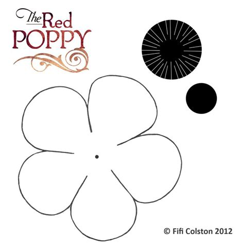 printable poppy stencils 1000 images about live crafts on pinterest earth day