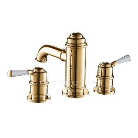3 hole bathroom sink faucet antique three holes bathroom faucets widespread